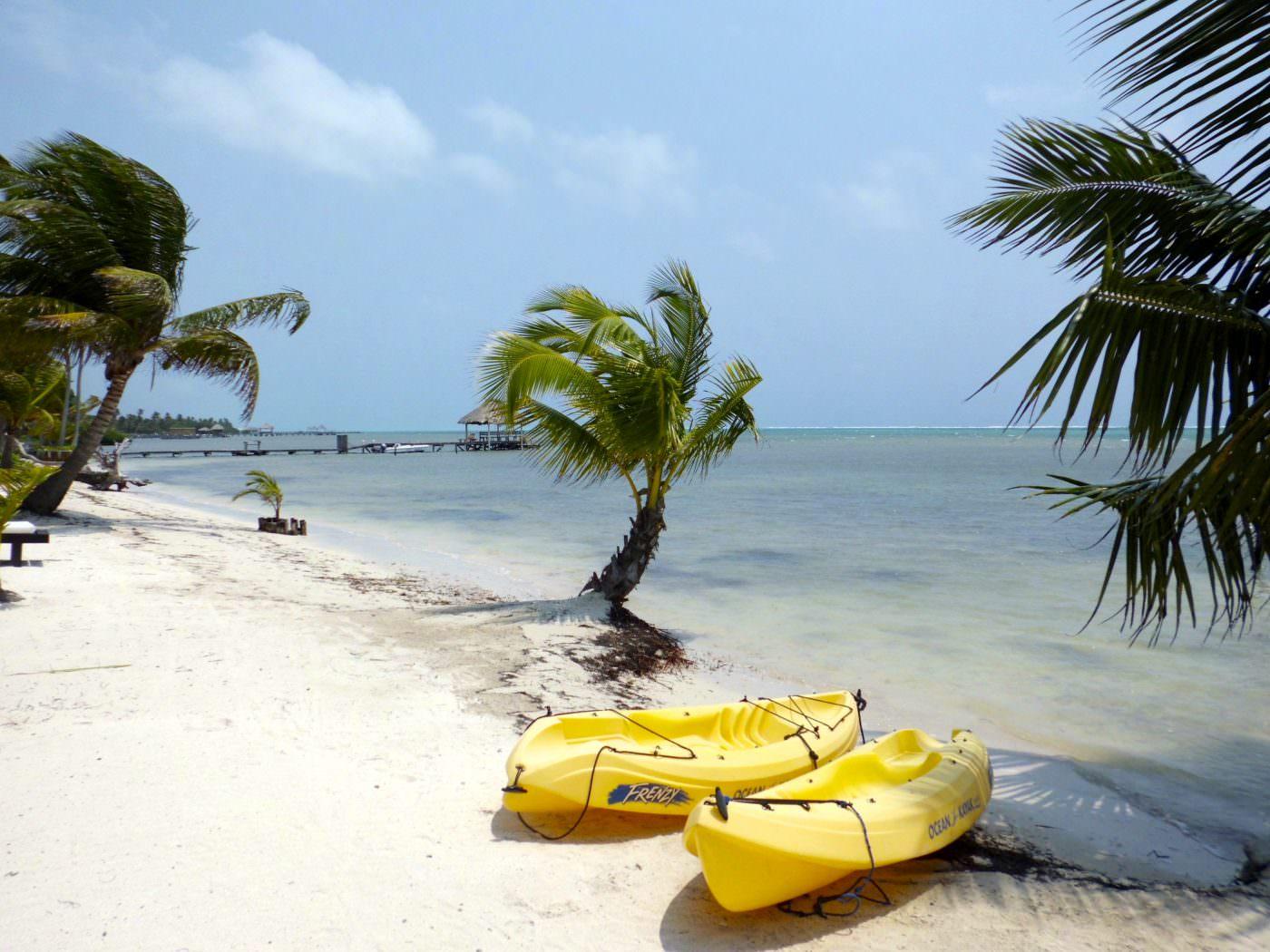 San Pedro, Belize. Travelling solo in Belize