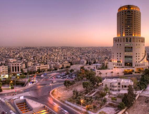 Le Royal Amman. Travelling solo in Jordan