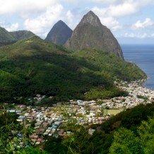 solo travel in Saint Lucia
