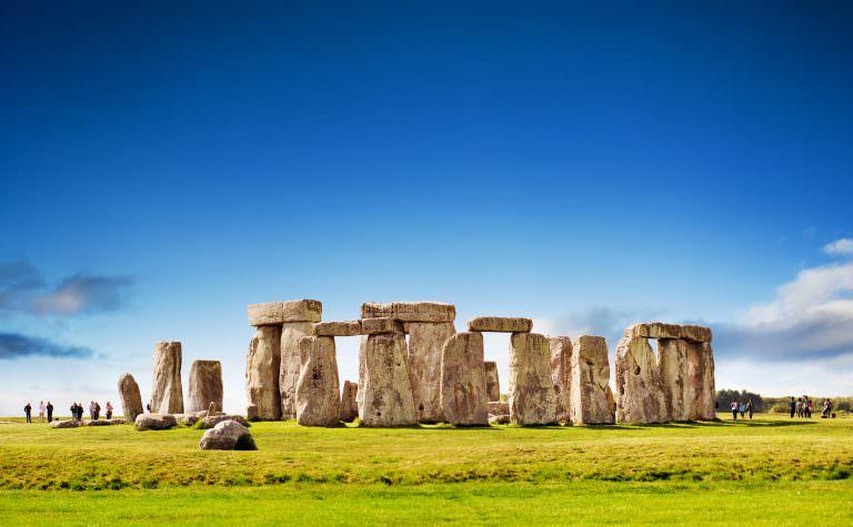 Famous Rock Group, Stonehenge, Wiltshire, England  № 715555 бесплатно