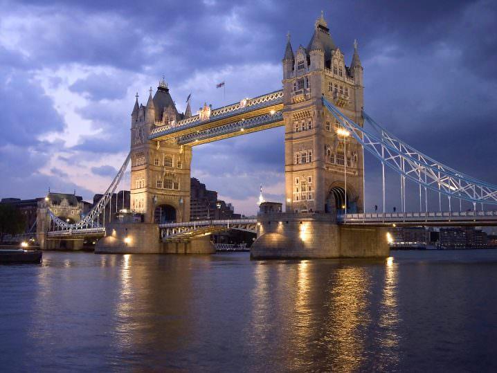 London Tower Bridge. England