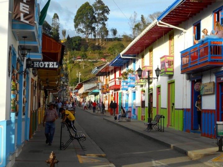 Salento - Women traveling solo in Colombia