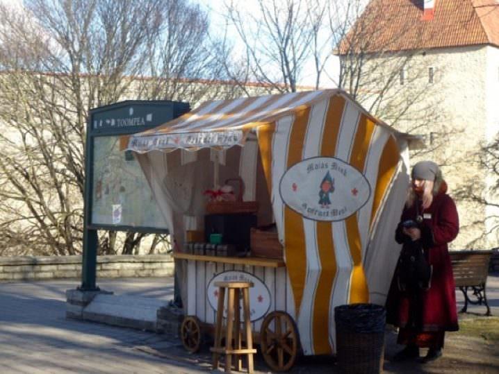 Travelling in the Baltics. Estonia