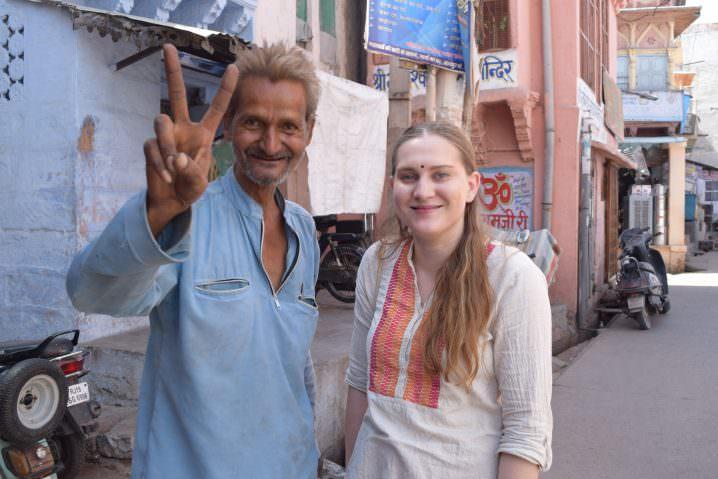 I did India Solo