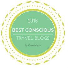 Conscious Travel Blog award