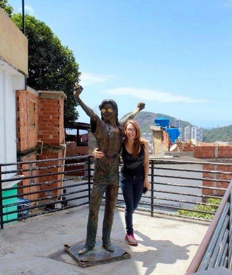 Santa Marta, Brazil favela