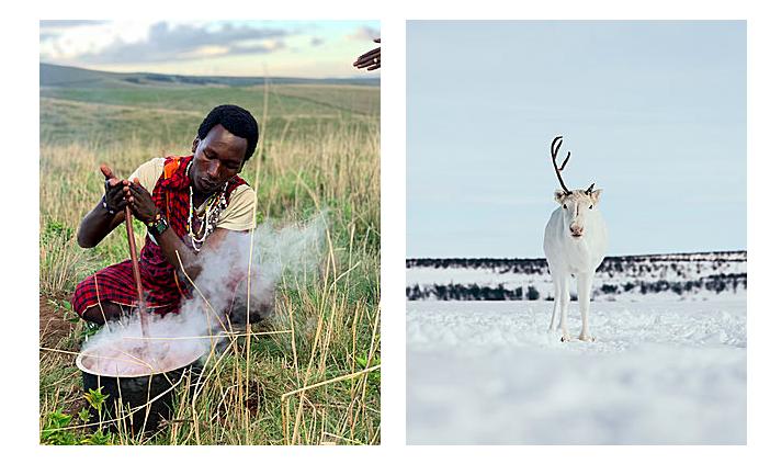 Visit Natives: Experience Sami, Hadzabe, and Maasai Culture