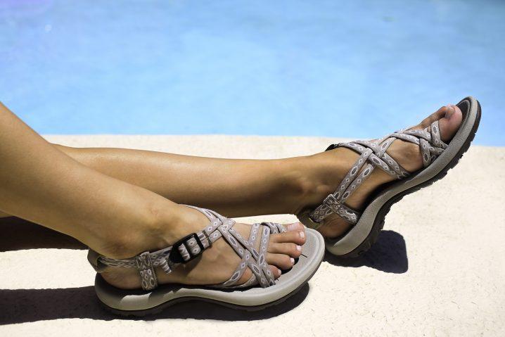 Viakix, womens walking sandals