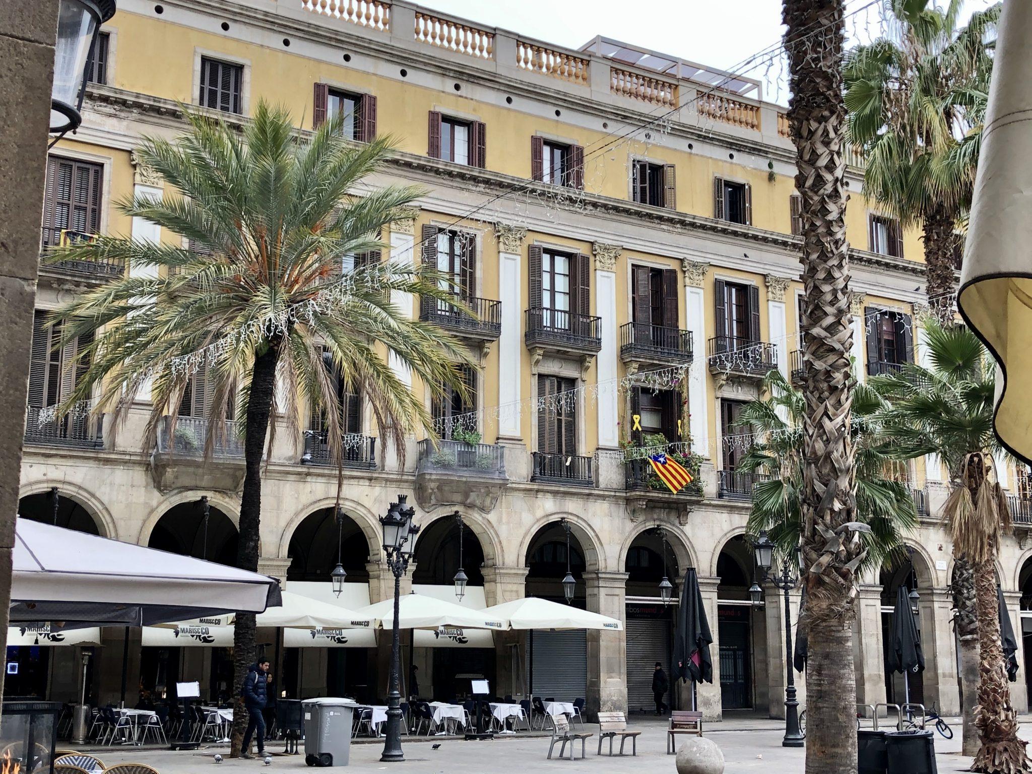solo travel in Barcelona