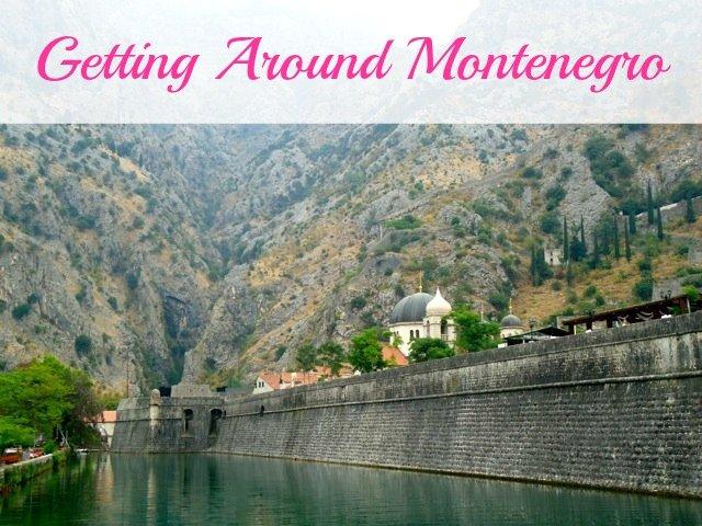 Getting around Montenegro