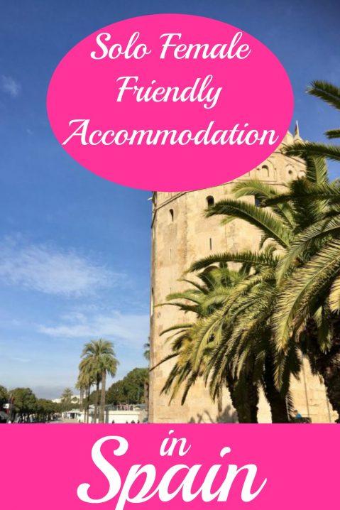 solo female-friendly accommodation in Spain