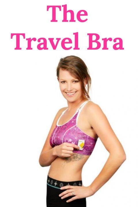 Travel Bra: Bamboo Travel Bra, Sports Bra & Beach Bra
