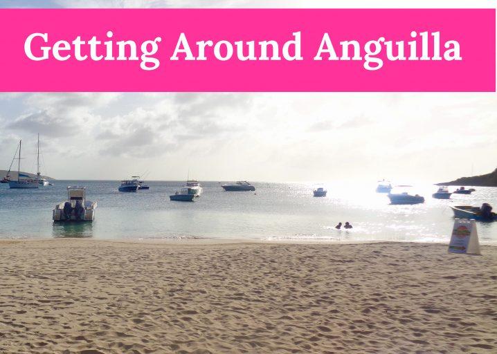Getting around Anguilla