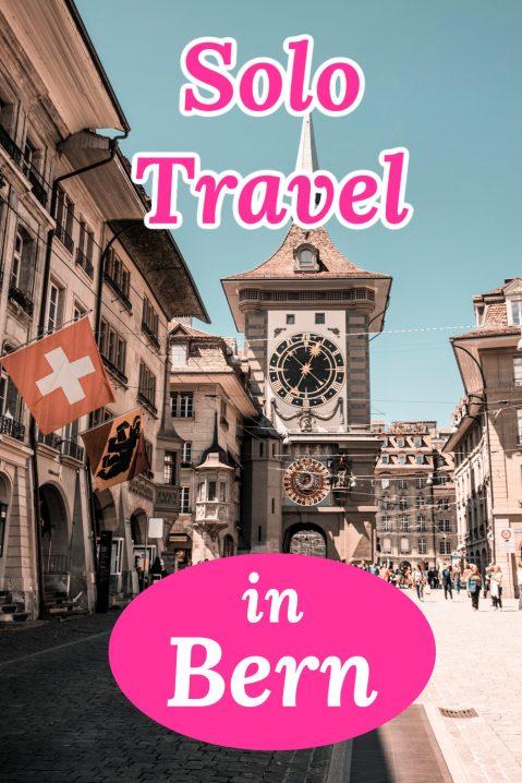 Solo travel in Bern