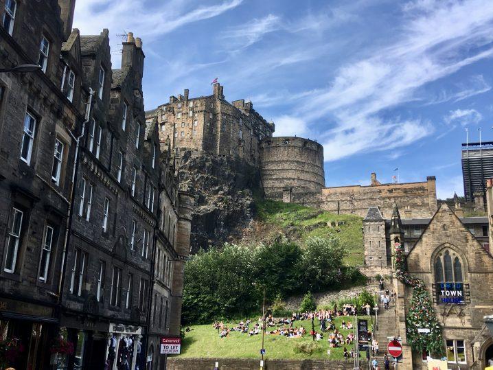 solo travel in Edinburgh