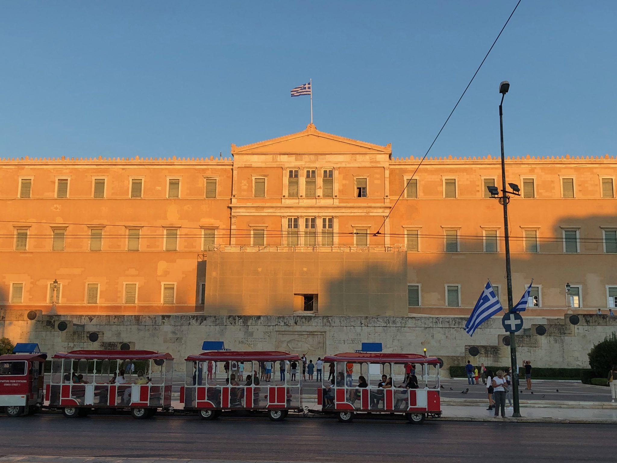 Getting around Athens