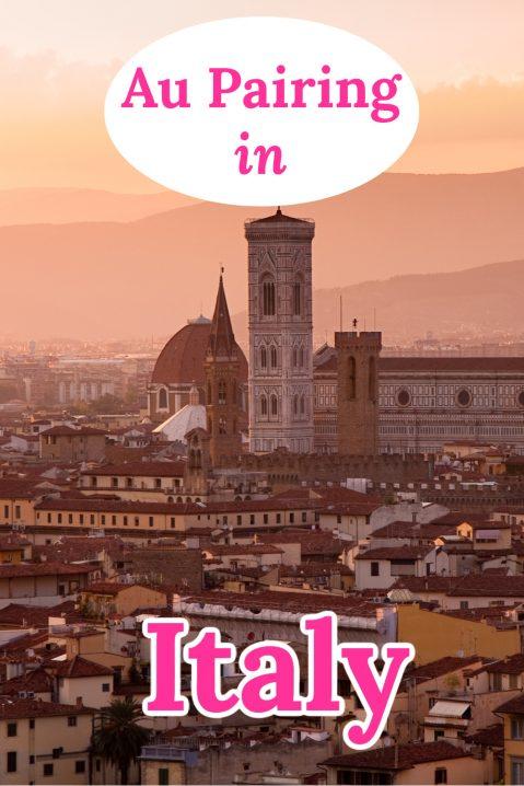 Au pairing in Italy
