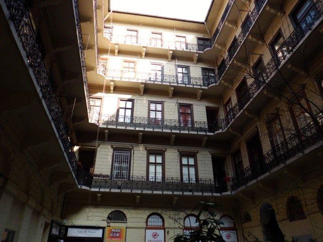 A Hungarian courtyard