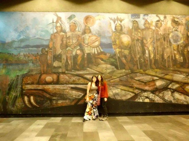 Mexican metro art