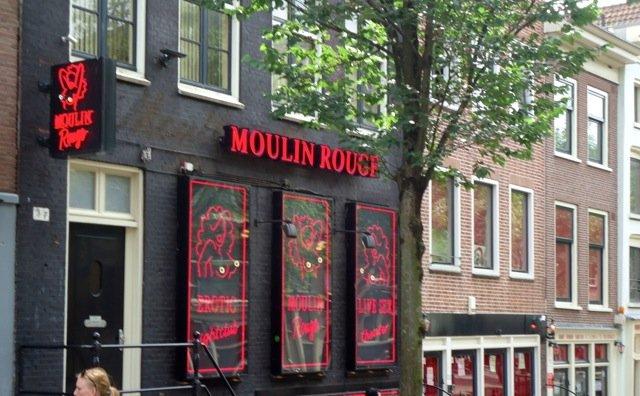 Amsterdam live sex shows casa rosa