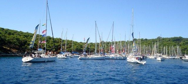sailing in Croatia - www.grlabouttheglobe.com