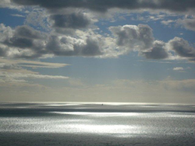 The sea at Cinque Terra