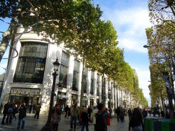 Champs de Elysees