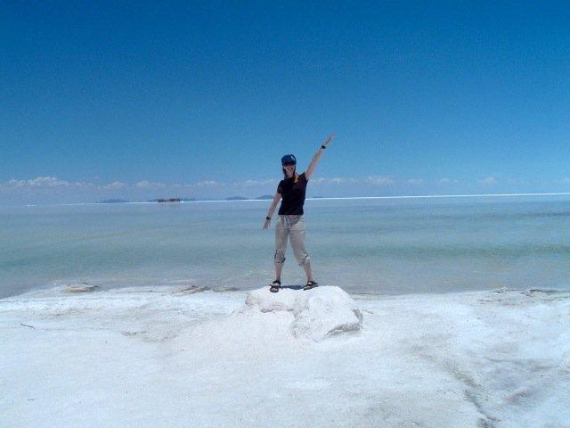 Salar de Uyuni - the salt flats in Boliva