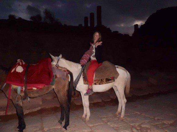 Little donkey at Petra